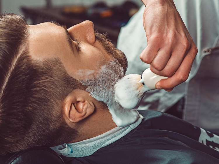 Hipster client visiting barber shop; Shutterstock ID 456453979; Invoice Number: -
